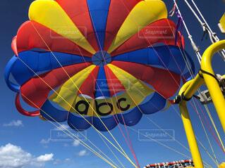 空,屋外,風船,パラシュート,カラー,景観,熱気球,エアスポーツ