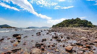 自然,風景,海,空,屋外,ビーチ,雲,島,水面,香港