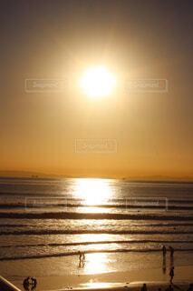 海,空,屋外,太陽,ビーチ,雲,夕暮れ,水面,日の出,カリフォルニア