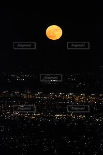 夜,夜景,月