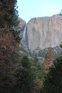 自然,秋,屋外,山,滝,樹木,谷,峡谷