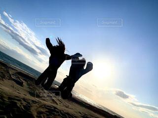 ジャンプ!の写真・画像素材[4274467]