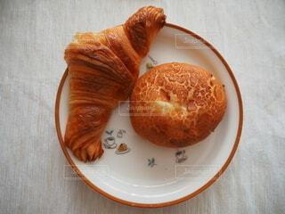 食べ物,食事,朝食,フード,パン,ワンプレート,クロワッサン,飲食