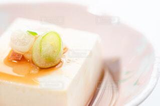醤油をかけた湯豆腐 アップの写真・画像素材[4229475]