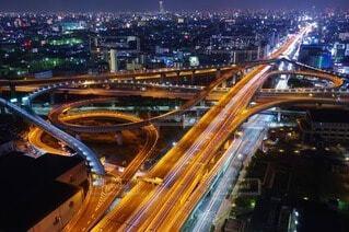 大阪の夜景の写真・画像素材[4243831]