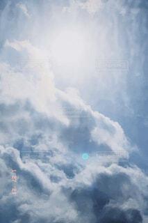 空,屋外,太陽,雲