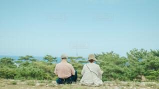 老夫婦の旅行の写真・画像素材[4252027]