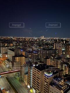空,建物,都市,タワー,高層ビル,ダウンタウン,スカイライン