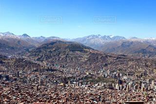 ボリビアのラパスの写真・画像素材[4243486]
