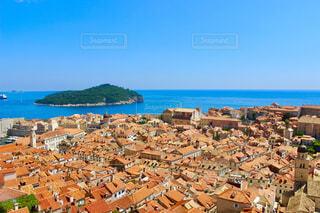 クロアチアの旧市街が美しいドブロブニクの写真・画像素材[4243488]