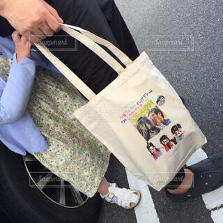 娘が父の日に贈った手作りバッグの写真・画像素材[4374425]
