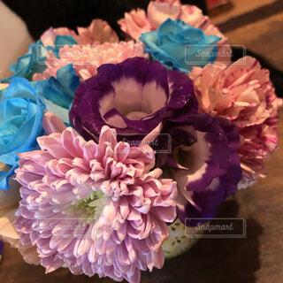 お花のプレゼント嬉しいの写真・画像素材[4391572]