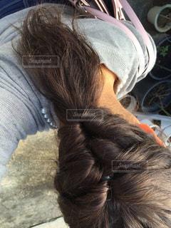 髪型の写真・画像素材[396264]