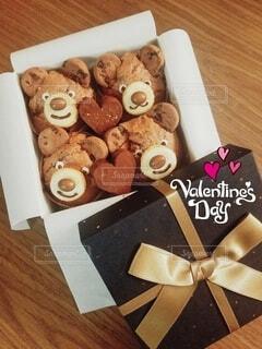 クマさんカップケーキの写真・画像素材[4247599]