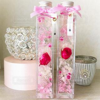 ピンク,かわいい,DIY,プレゼント,リボン,ハンドメイド,デコ,手づくり,クラフト,ギフト,ハーバリウム