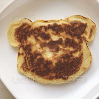 クマのパンケーキの写真・画像素材[4252242]