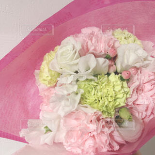 ピンクの花束の写真・画像素材[4282920]