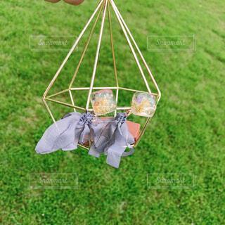 風に吹かれるアクセサリーの写真・画像素材[4285269]