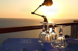 海が見えるレストランの写真・画像素材[2629332]