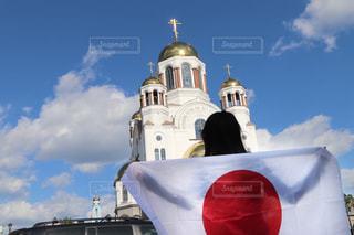 日本応援の写真・画像素材[2631287]