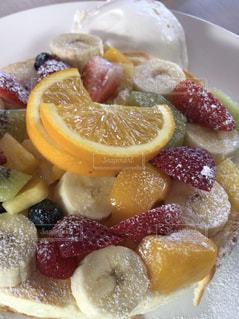 食べ物,パンケーキ,フルーツ
