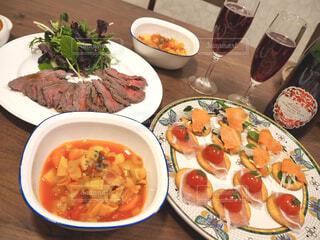 食べ物,カフェ,ディナー,テーブル,野菜,皿,リラックス,肉,料理,おうちカフェ,ドリンク,おうち,ライフスタイル,おうち時間