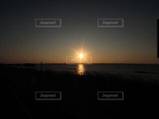 日の出の写真・画像素材[4268492]