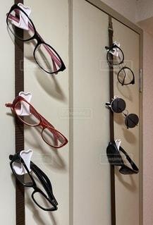 メガネコレクションの写真・画像素材[3663044]