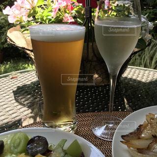 食べ物,カフェ,花,庭,ジュース,テーブル,皿,リラックス,ビール,カクテル,おうちカフェ,ドリンク,おうち,ライフスタイル,ソフトド リンク,おうち時間