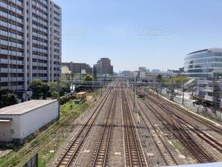 蒲田陸橋からの景色の写真・画像素材[4334815]