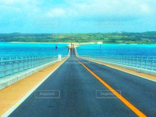 宮古島の海と橋の写真・画像素材[903068]