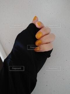 物を手に持っている手の写真・画像素材[4392716]