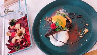 食べ物,花,ケーキ,屋内,かわいい,デザート,皿,食器,おいしい,自家製,レシピ,大皿,おしゃれ