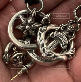 鎖の鍵の写真・画像素材[4315352]