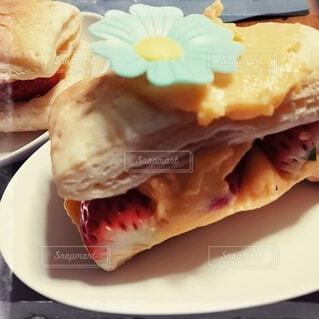 食べ物,カフェ,ケーキ,デザート,皿,リラックス,サンドイッチ,おいしい,おうちカフェ,ドリンク,おうち,菓子,ライフスタイル,ファストフード,おうち時間