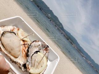 宮島の牡蠣の写真・画像素材[4303321]
