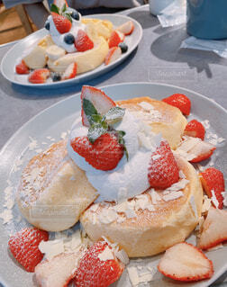 幸せのパンケーキの写真・画像素材[4308588]