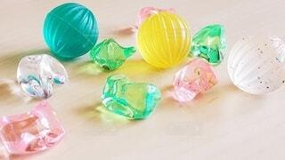 ピンク,緑,カラフル,黄色,テーブル,キラキラ,イエロー,グリーン,机上,プラスチック,檸檬色
