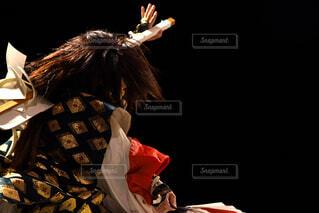 神楽を舞う人の写真・画像素材[4311686]
