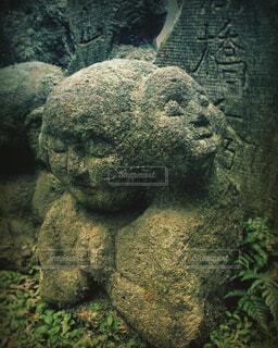 自然,風景,京都,緑,神社,岩,旅行,像,石,お寺,寺,寺社,仏像,彫刻,草木