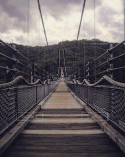 自然,空,橋,木,屋外,階段,雲,水面,田舎,木目,吊り橋,手すり,レール