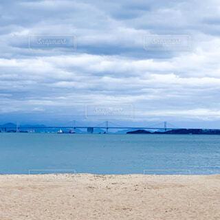 瀬戸内海と砂浜の写真・画像素材[4320443]