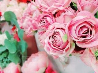 バラの花束の写真・画像素材[4378768]