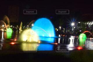 リサール公園の噴水,フィリピンの写真・画像素材[4314077]