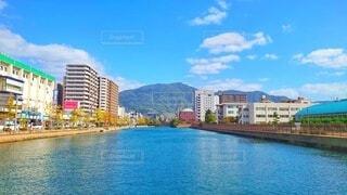 橋の上から見る呉市内の写真・画像素材[4371498]