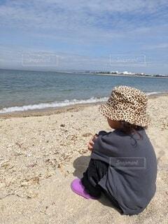風景,海,ビーチ,砂浜,水面,子供服