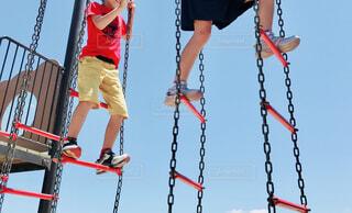 公園で遊ぶ子どもの写真・画像素材[4391415]