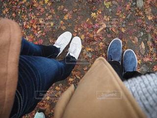 秋,カップル,靴,足元,お洒落,エモい