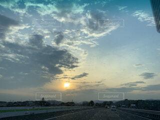 自然,空,屋外,太陽,雲,水面