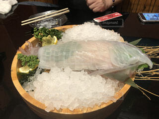 食べ物をテーブルの上に閉じるの写真・画像素材[4331021]
